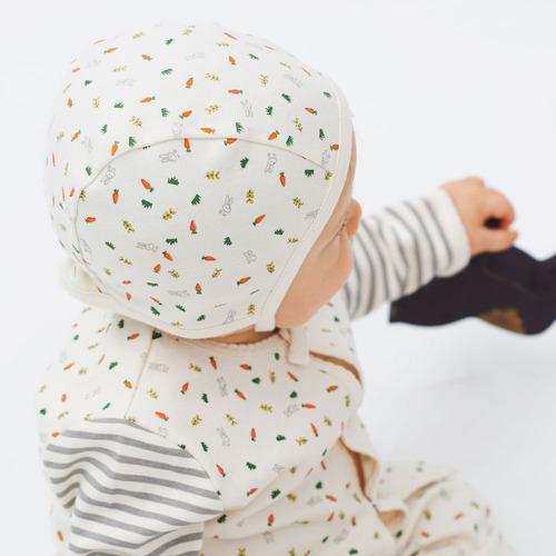 바니바니 패턴 모자