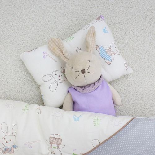 토끼 거즈 짱구베개